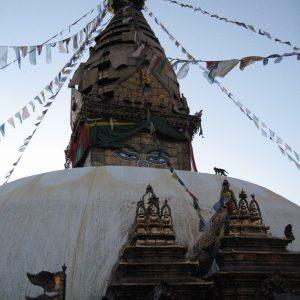 Swayambhunath, la estupa de los ojos de Buda